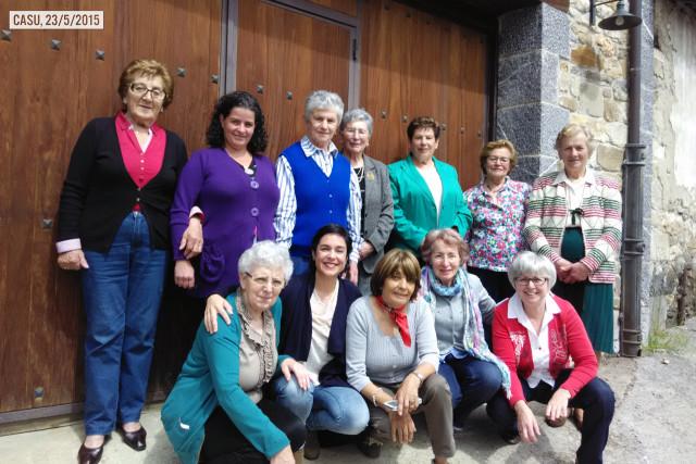 Grupo de mujeres de Casu