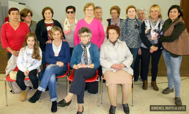 Grupo de mujeres de Bimenes