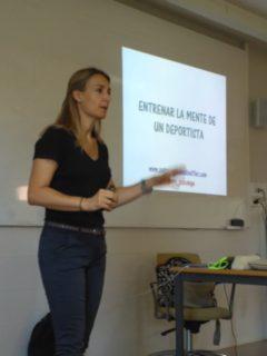 Patricia Ramírez, Psicóloga del deporte y de la salud